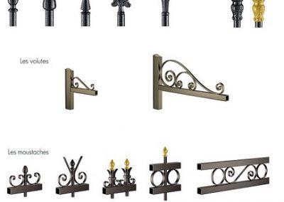 Choisissez vos éléments décoratifs