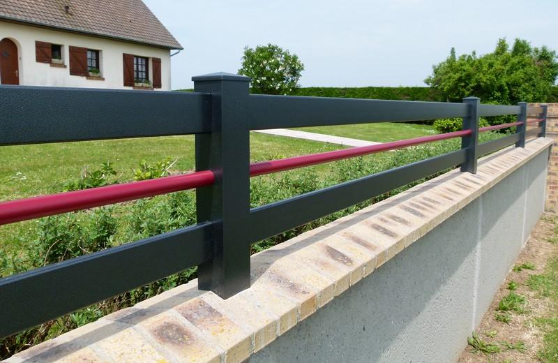 Texas clôture - bicolore