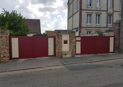 Tschoeppé Impulsion I100 bi-coloration_ rouge et ton pierre