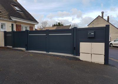 Tschoeppé gamme LINEO avec clôture